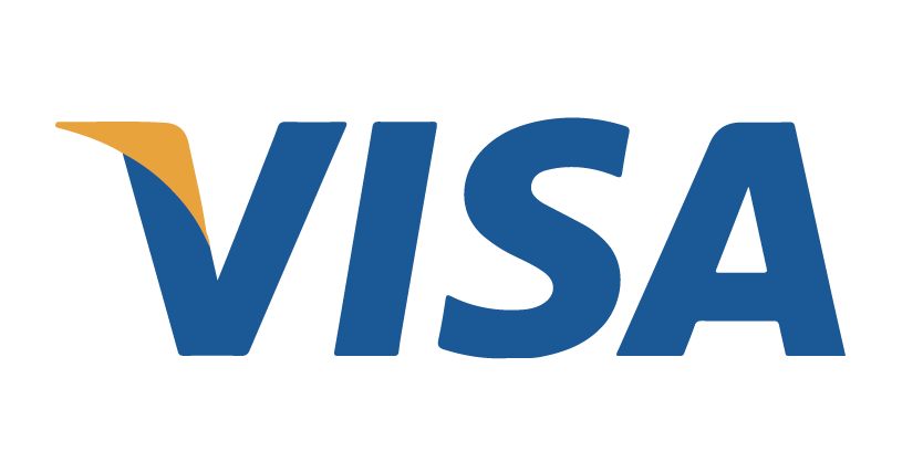 visa, accepted payment method logo